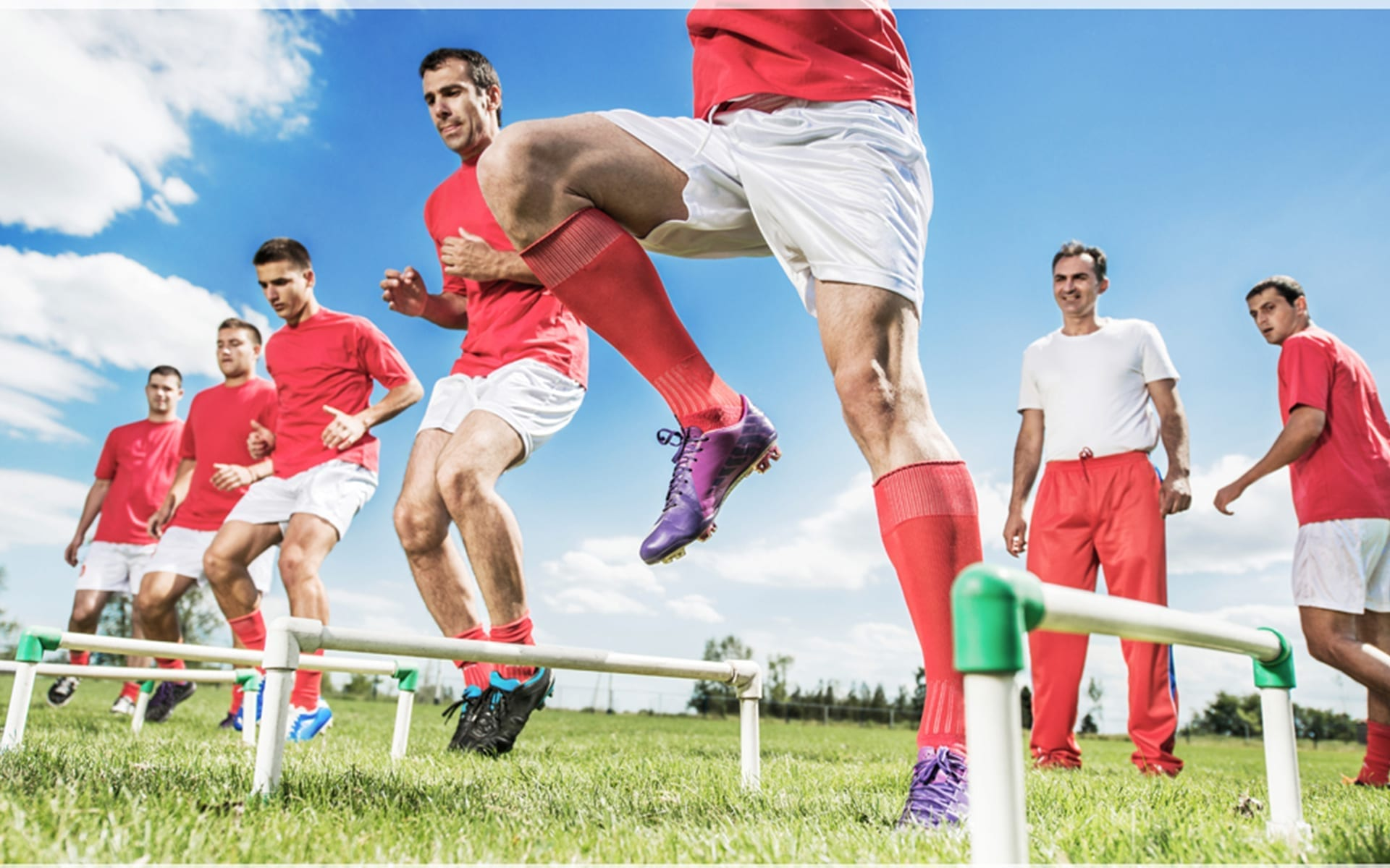 sports therapy landing page