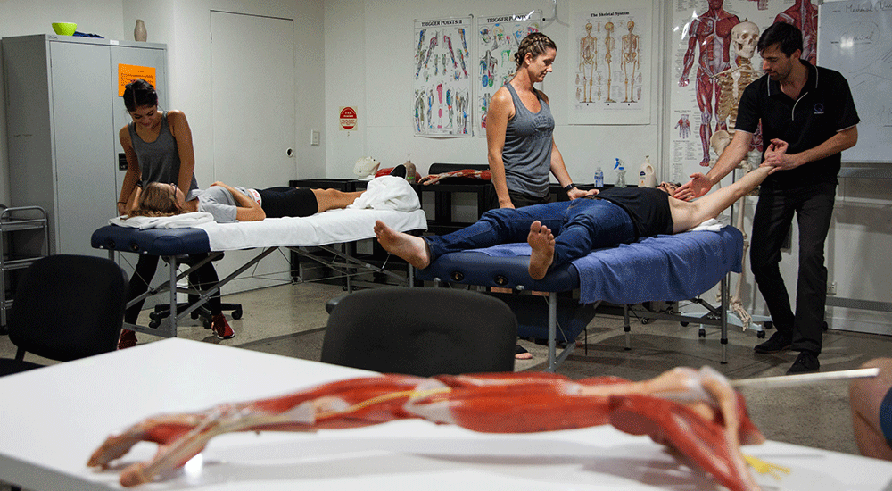 What subjects are included in our Remedial Massage Sports Therapy Program?