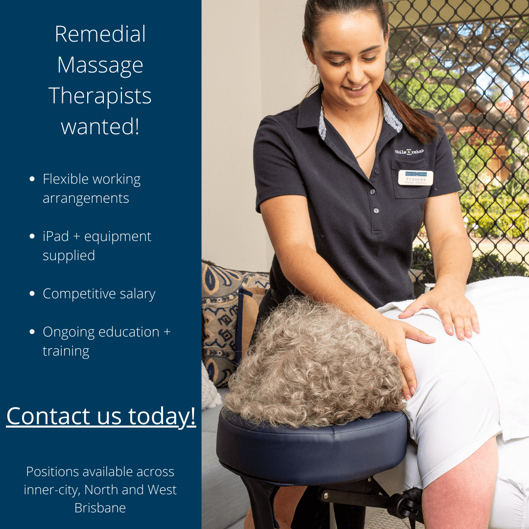 Remedial Massage Therapist (Mobile Rehab)
